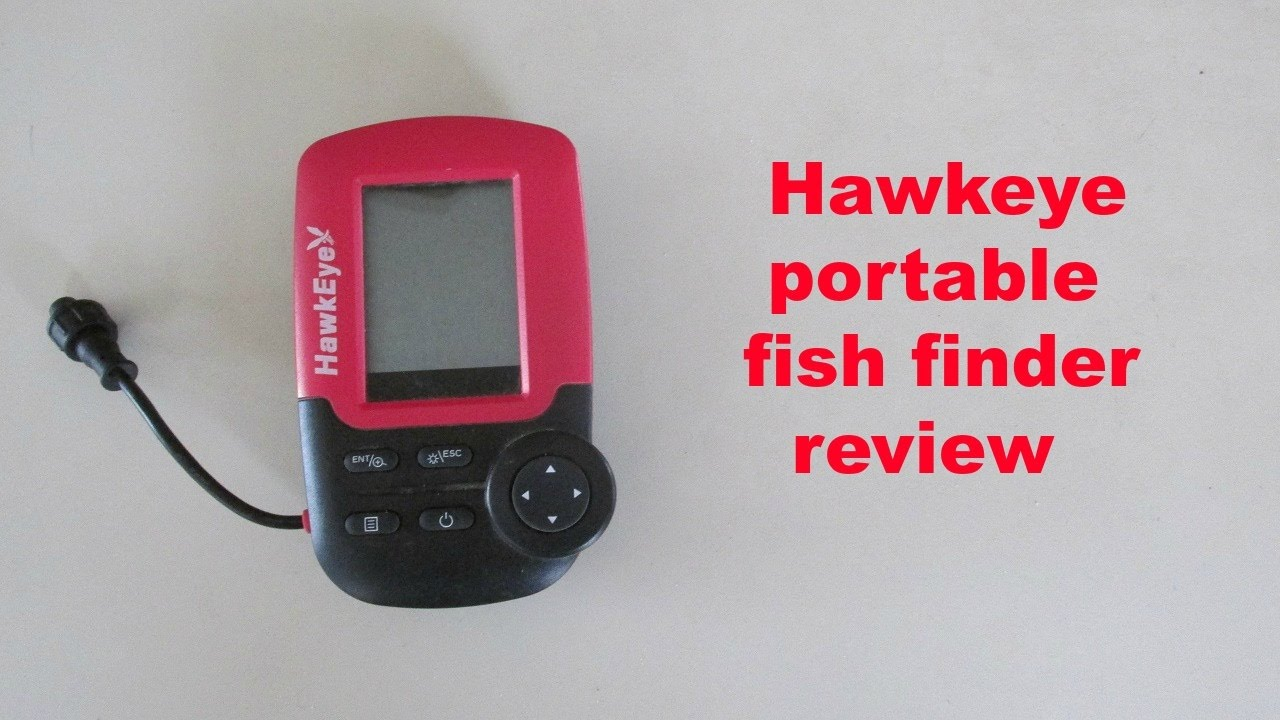 hawkeye fishtrax 1x portable fish finder review - youtube, Fish Finder
