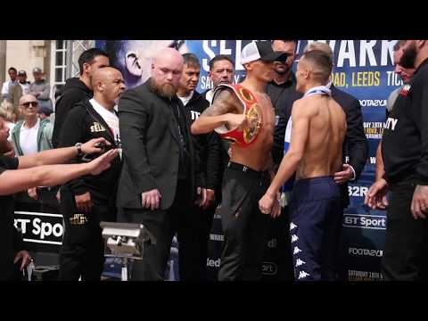 SELBY VS WARRINGTON FULL WEIGH IN