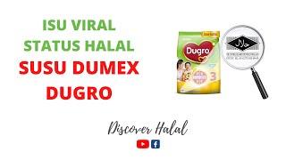 Penjelasan isu viral status Halal produk susu Dumex Dugro