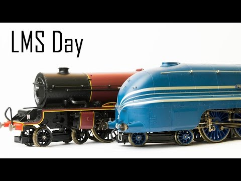 A Day With LMS locomotives