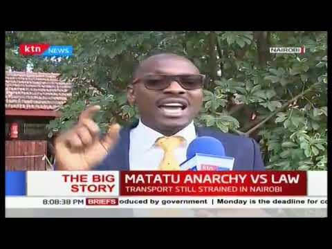 Matatu anarchy vs law: PSVS that are not operating to loose license says Matiang\'i