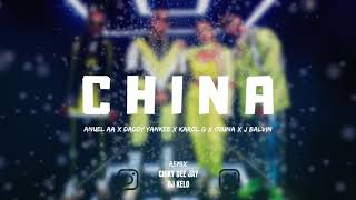 CHINA ( REMIX CUMBIA) Anuel AA, Daddy Yankee, Karol G, Ozuna, J Balvin | CHIKY DEE JAY FT. DJ KELO
