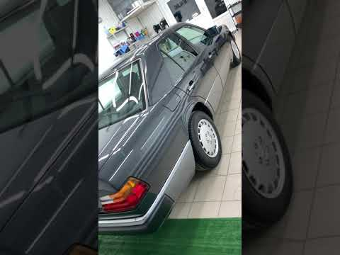 Mercedes W124 из Японии