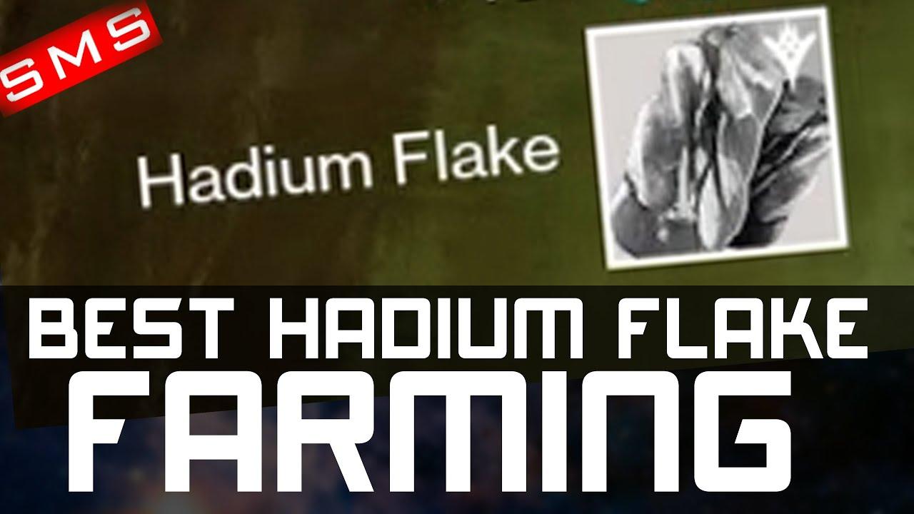 how to get hadium flakes in destiny