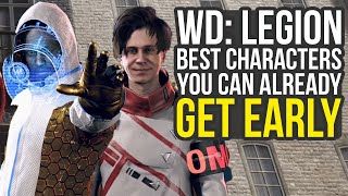 Watch Dogs Legion Best Characters You Can Already Get Early (Watch Dogs Legion Tips And Tricks)