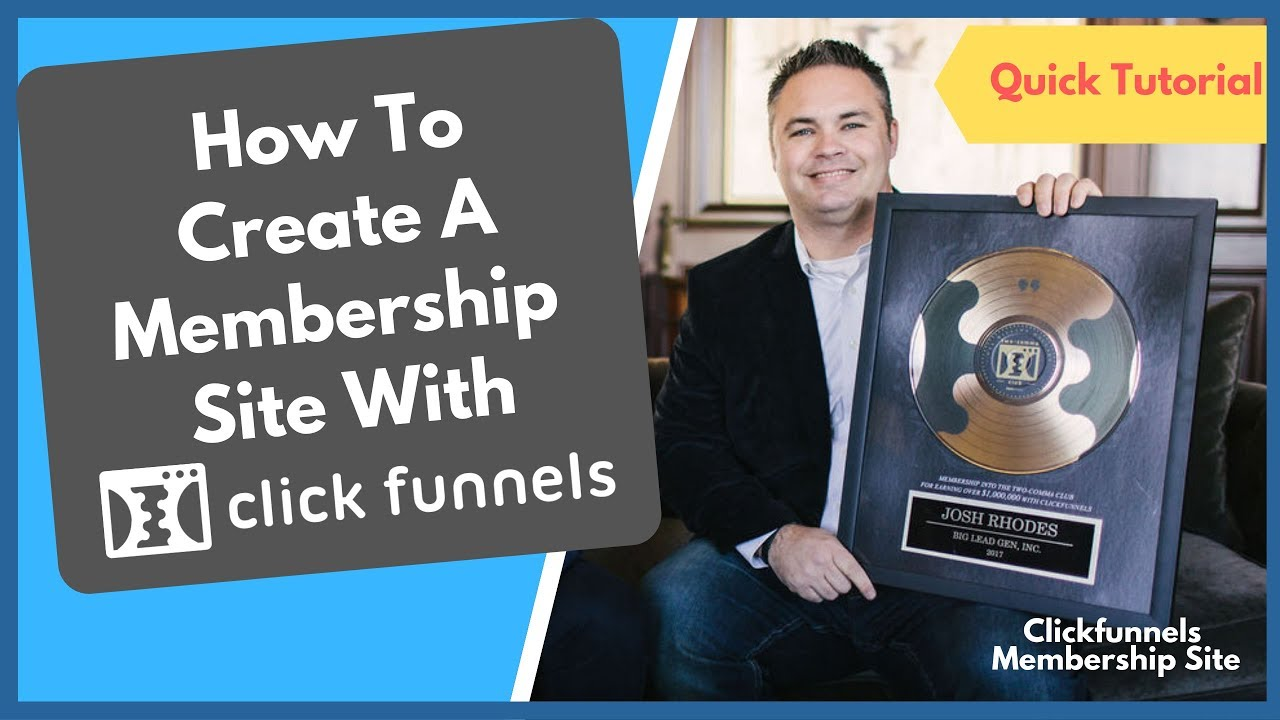 Clickfunnels Membership Site Fundamentals Explained