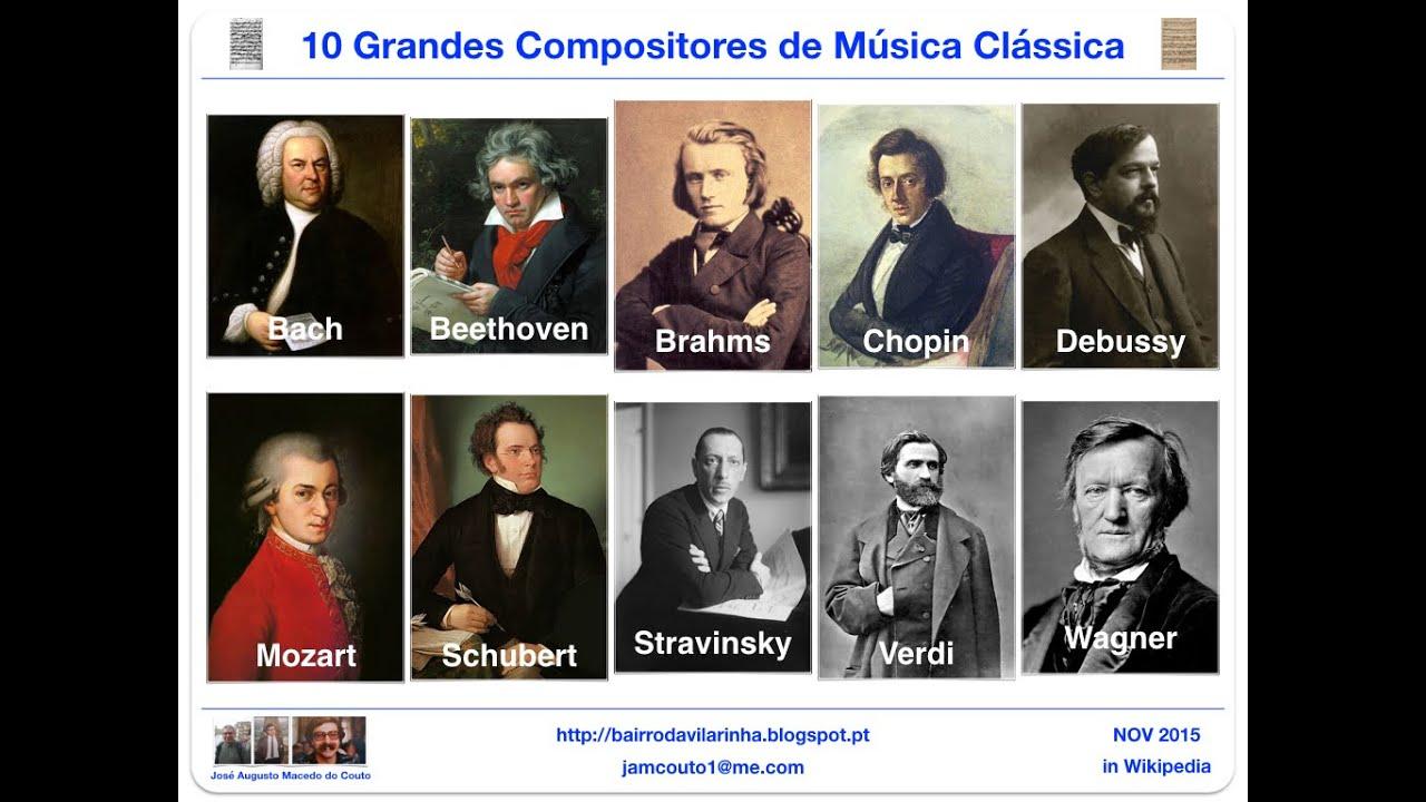 10 grandes compositores de m sica cl ssica youtube for Musica classica