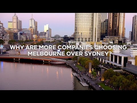 Why are more companies choosing Melbourne over Sydney?