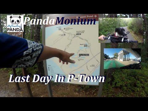 Province Land's Bike Trail, Race Point Beach & Boston - RV Living Vlog
