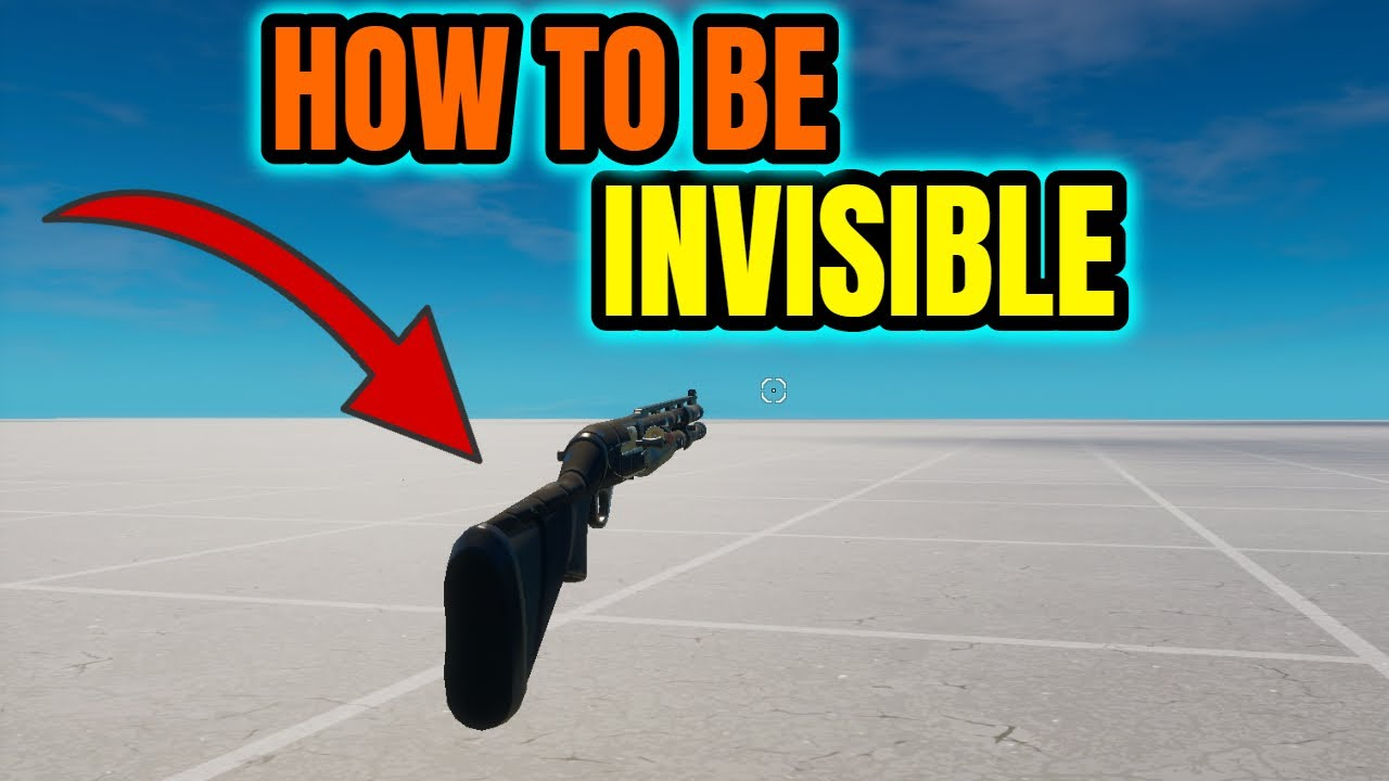 Download How to be INVISIBLE in Fortnite chapter 2 season 4 creative glitch