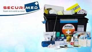 Mallette de secours en cas de confinement PPMS 50 personnes - Securimed