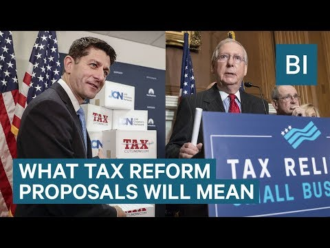 What The Senate Republicans' Tax Plan Means Based On Your Salary