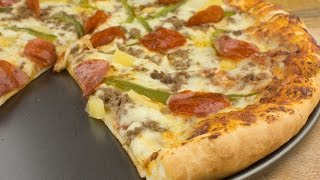 How to make Homemade Pizza From Scratch - Afropotluck