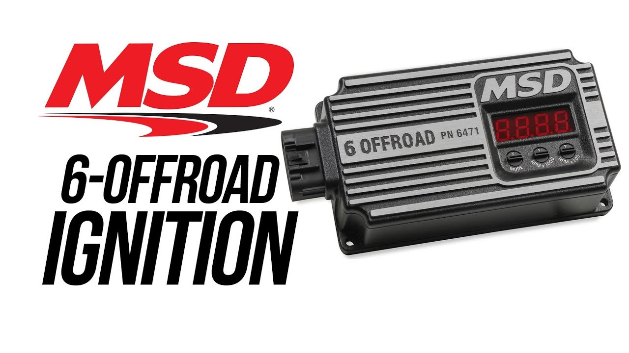 msd digital 6 off road ignition youtube