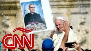 Así fue la canonización de monseñor Óscar Romero