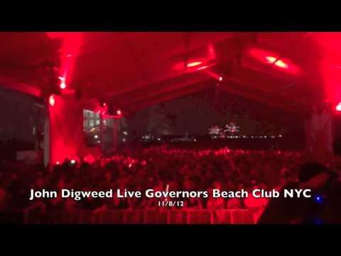 John Digweed Live at Governors Beach Club NYC 11/8/12