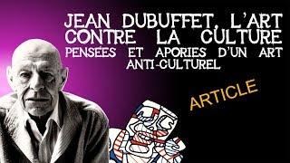 Article sur Jean Dubuffet