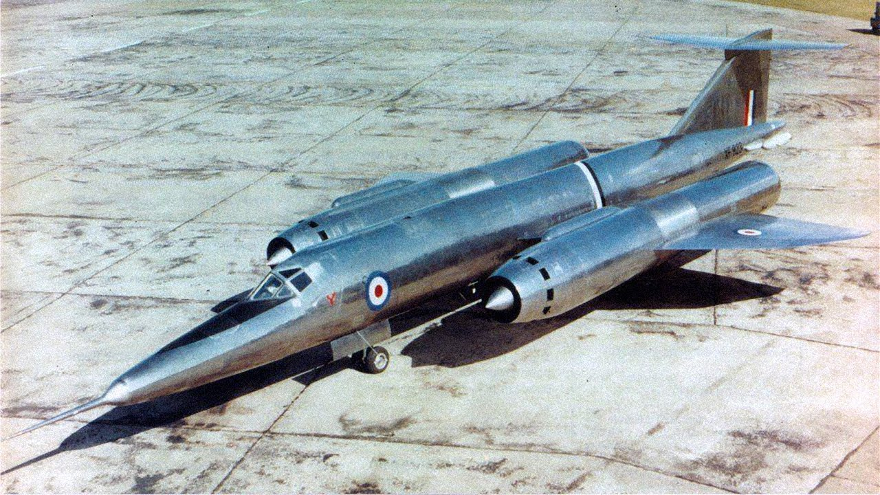 The Bristol 188 Flaming Pencil - Supersonic Stainless Steel