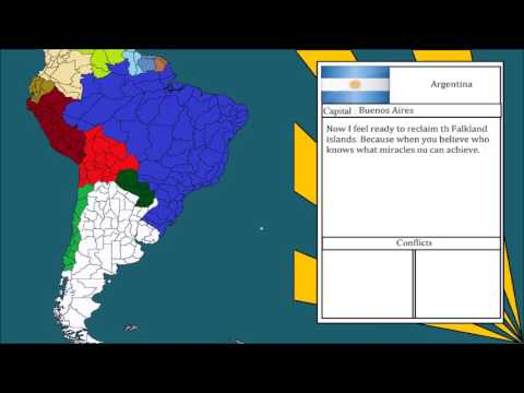Alternate Future of Argentina