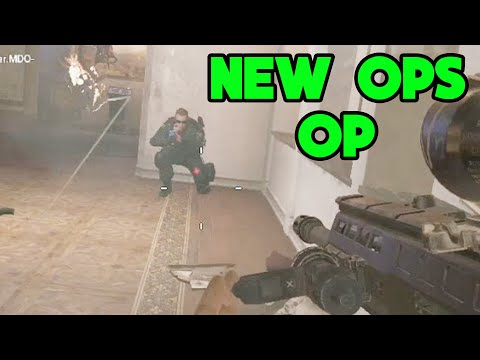 New Ops are OVERPOWERED AGAIN - Rainbow Six Siege Gameplay