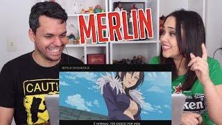 REACT RAP DA MERLIN - NANATSU NO TAIZAI (+18) (FELÍCIA ROCK)