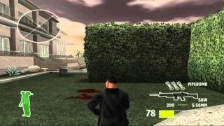25 To Life (PS2) walkthrough - FINAL LEVEL - Hacienda