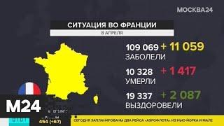 Число заболевших COVID-19 по миру превысило отметку в 1,4 миллиона человек - Москва 24