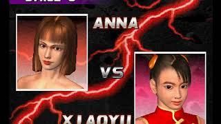 Tekken 3 ( PS1 ) - Anna - Arcade Mode - Original Music ( Dec 29, 2017 ) thumbnail