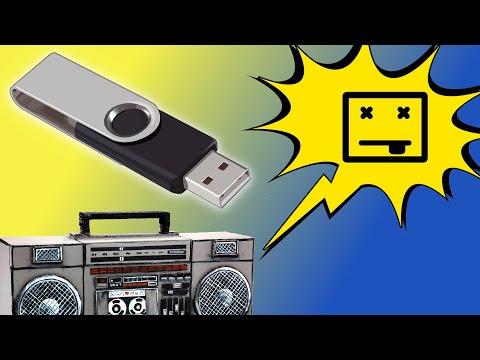 Radio USB no lee un pendrive o tarjeta ¡Solución!