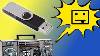 Radio o bocina con USB no lee un pendrive o tarjeta ¡Solución!