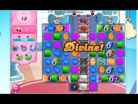 Candy Crush Saga Level 3275 -22 Moves- With 2 lollipop hammer