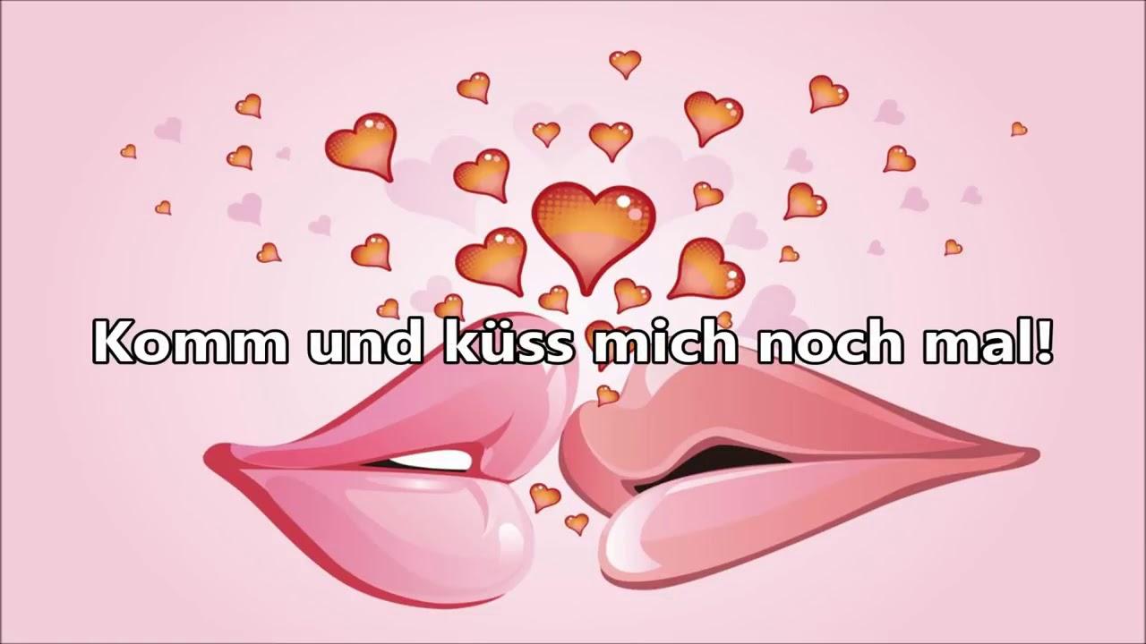 kuss für dich