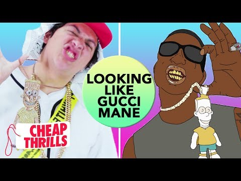 D.I.Y. Gucci Mane's Bart Simpson Chain | Cheap Thrills