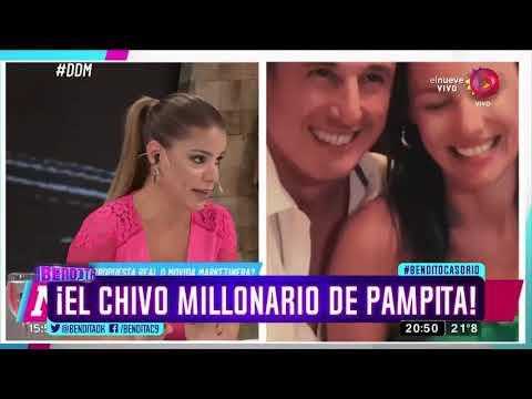 ¡El chivo millonario de Pampita!