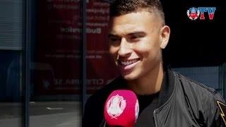 Jordan Larsson om U21-äventyret och OS-uttagningen