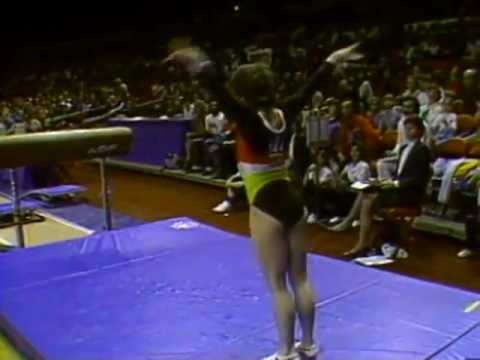 Mary Lou Retton - Vault - 1984 McDonald