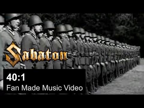 SABATON - 40:1 (Official Fan Made Video)
