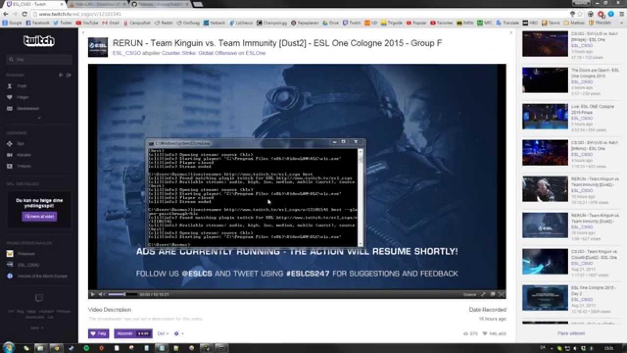Twitch Buffering Fix