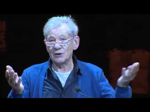 Sir Ian McKellen read a brave and powerful coming out letter