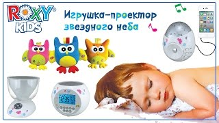 Ночник проектор звездного неба Roxy-Kids c игрушкой