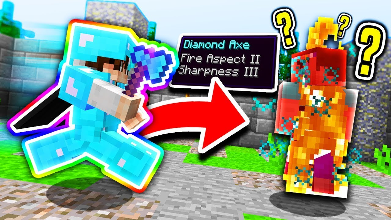 Secret Fire Aspect Axe Minecraft Mega Skywars Youtube How to craft a diamond sword fire aspect super sword in minecraft.gmd billy. secret fire aspect axe minecraft mega skywars