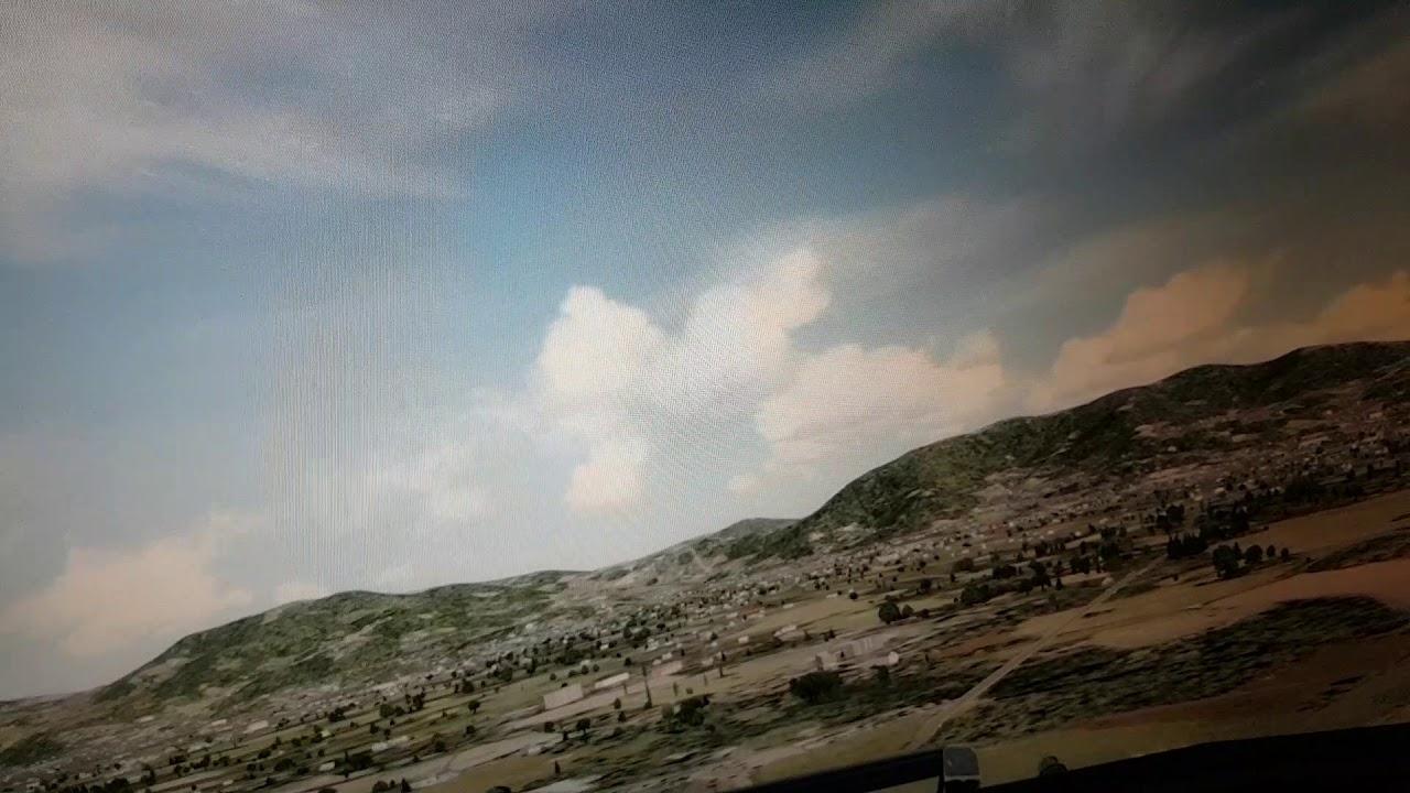 김해공항 18R 써클링 (Cockpit View)