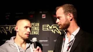 Tom Niinimäki Talks EuroFC 01 Win
