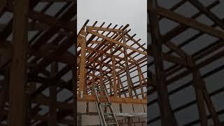 крыша гаража ,продолжение