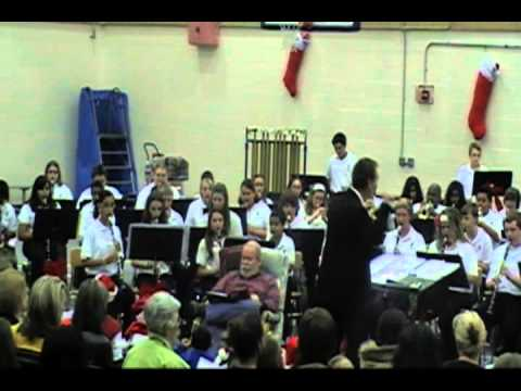 Neptune Middle School Band Christmas Concert Part 1