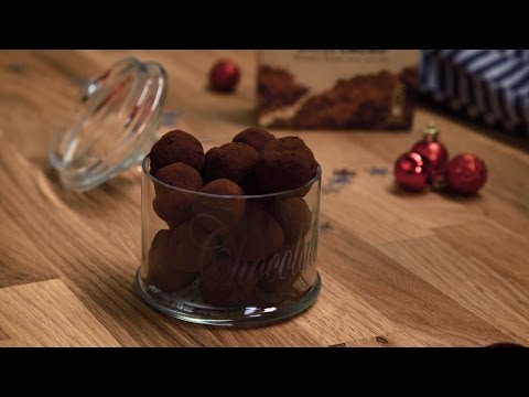 truffes au chocolat nestl dessert noir youtube. Black Bedroom Furniture Sets. Home Design Ideas