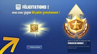 FORTNITE -GAGNER- 50 PALIERS -FREE ON YOUR COMPTE FORTNITE PS4/XBOX ONE/PC? 😱 (Concept)