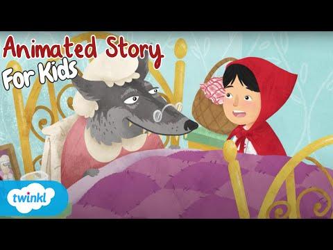 Little Red Riding Hood Story Read Aloud | Twinkl Go!