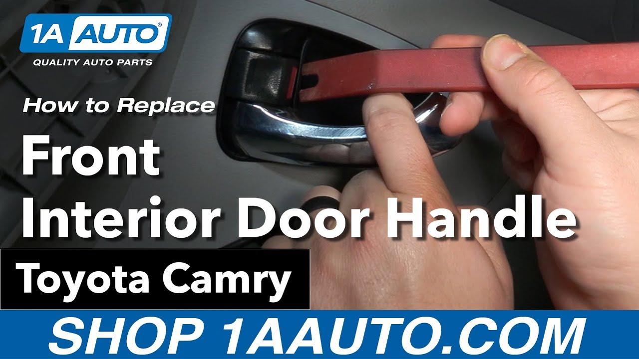 2001 Toyota Camry Interior Door Handle Replacement