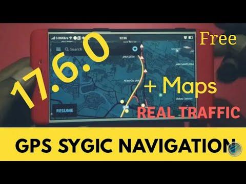 GPS Sygic Navigation 17 6 0 + Maps Real TimeTraffic 2018